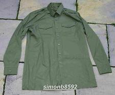 UK ARMY SURPLUS OG WORKING DRESS MANS GS SHIRT LONG SLEEVE POLYCOTTON-1/FANCY