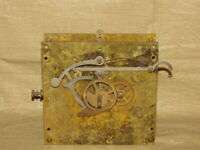 Antique Grandfather Clock Movement (Chain Weight Driven)