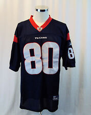 9a6a3508043 Houston Texans Andre Johnson Sewn Nike Football Blue NFL 80 On Field 50  Mesh Red