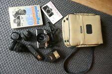 Minolta XG-9 35 mm Spiegelreflexkamera mit Zubehör
