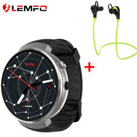 LEMFO LEM7 Bluetooth Smart Watch Orologio 4G WIFI GPS Uomo Guarda Android iOS