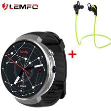 LEMFO LEM7 Bluetooth Smart Watch Orologio 4G WIFI GPS Uomo Guarda Android iOS