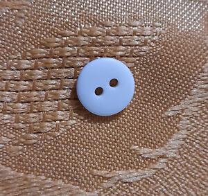 button color white 2 hole