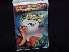 New Sealed Universal Studios VHS The Land Before Time The Secret of Saurus Rock