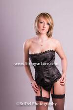 Women's Lace Suspenders Hook Eye Lingerie & Nightwear