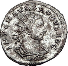 PROBUS receiving globe from Jupiter 277AD Authentic Ancient  Roman Coin i65109