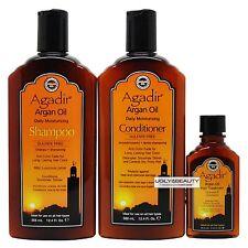 Agadir Argan Oil Daily Moisturizing Duo 12.4 Fl Oz + Hair Treatment 2.25 Fl. Oz.