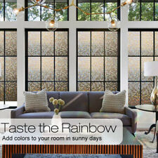 Glass Sticker Frosted Opaque Adhesive Living Room Window Film Privacy Protection