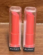 2 Almay Smart Shade Butter Kiss Lipstick - Pink - Light/Medium (#60)- New