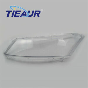2007-2012 Left Headlight Headlamp Lens Cover Replacement Fit For Honda Accord