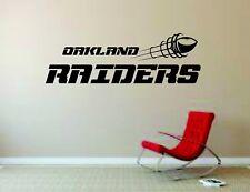 Wall Mural Vinyl Decal Sticker Decor NFL Football Rugby LogoOakland Raiders