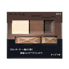 [KANEBO KATE] Brown Shade Eyes N BR-6 MATTE BROWN Eyeshadow Palette JAPAN NEW