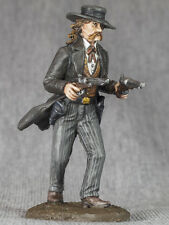 TOY SOLDIERS 54mm Cowboy WILD BILL 1/32 Hand Painted Wild West figures Metal
