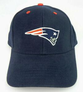 NEW ENGLAND PATRIOTS NFL FOOTBALL NAVY REEBOK REPLICA ADJUSTABLE CAP HAT NEW!