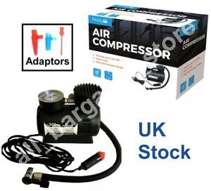 Pump Air Compressor 12V Heavy Duty Powerful Car Tyre Electric Inflator 300PSI