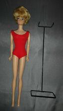 Vintage Barbie Beautiful Bubblecut Platinum Blonde Doll #850; 1961