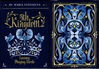 5th Kingdom Blue Playing Cards Deck USPCC Limited Edition New Poker Size
