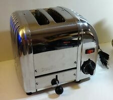 Dualit 2-Slice Toaster Chrome A2BRP/83 Made in England - Clean & VGC - FREE SHIP