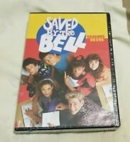 Saved By The Bell Seasons 1 & 2 on DVD 5 Disc Set Vintage TV Show Free Shipping!