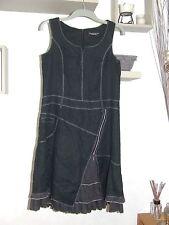 magnifique robe 100 % lin doublée  taille 44  FEMME JE VOUS AIME  parfait état