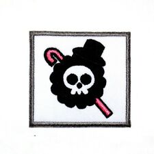 ONE PIECE Brook Sword Pirates Skull Flag Symbol Anime Comic Shirt Iron on Patch