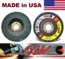 """Box of 5 Coarse Surface Conditioning Flap Disc 4-1//2/"""" X 7//8/""""  KEEN Brite 55728"""