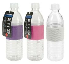 Copco Hydra Sport Water Bottle BPA Free Reusable 16.9 Oz 3 Pack Purple Pink Gray