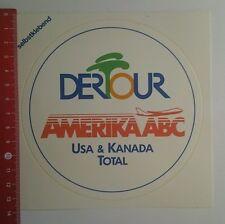 Aufkleber/Sticker: Dertour Amerika ABC USA & Kanada Total (200916100)