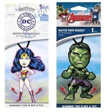Marvel & DC Universe Hulk & Wonder Women His & Hers Wiggle Air Fresheners A166