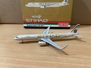 Etihad A321 1:400 (Reg A6-AEA) PH10983 Phoenix