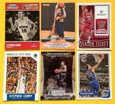 6-Card Lot Stephen Steph Curry 2009-10 Panini RC Rookie + Davidson All-Star