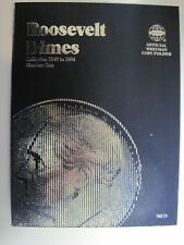 50 Roosevelt Silver Dimes in a New Whitman Folder Complete From 1946 to 1964 D
