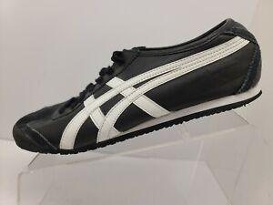 Asics Onitsuka Tiger Mexico 66 DL408 Black Shoes Mens Size 10