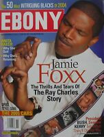 "JAMIE FOXX  ""RAY"" November 2004 EBONY Magazine ANITA BAKER"