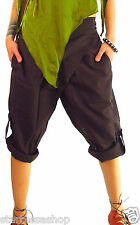 THAI YOGA PANTS baggy shorts Fisherman Pants 3/4 harem pants FREE Post to UK