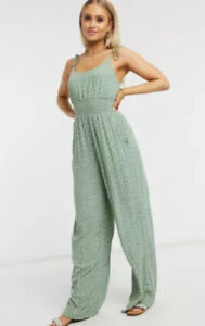 AE American Eagle floral Tie Jumpsuit Romper - $59 Value New With Tags! Medium