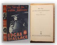 Wallace Die Tür mit den Sieben Schlössern 1931 Belletristik Roman Krimi sf