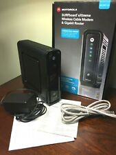 Motorola SBG6580 SURFboard Wireless Cable Modem & Router 4 Port up to 300Mbps