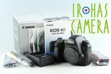 Canon EOS 6D Digital SLR Camera With Box #33122 L6
