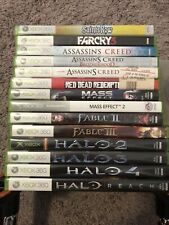 Xbox 360 Lot Of Games. Halo, Farcry 3, Assassins Creed. Mass Effect, Bio shock 2