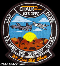 Usaf 163Rd Attack Wing-Chalk 2 Chase Aircraft -Mq-1 Predator -Mq-9 Reaper Patch