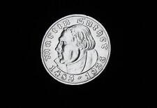 5 Reichsmark Martin Luther 1933 A vorzüglich