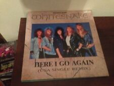 "WHITESNAKE SPANISH 12"" MAXI SPAIN HERE I GO - IS THIS LOVE HARD ROCK"