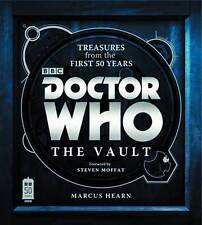 DOCTOR WHO THE VAULT TREASURES FROM THE FIRST 50 YEARS HARDCOVER Reference HC