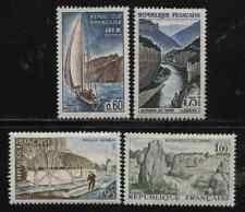 France 1516 - 1519 paysages: Aix-les-Bains, Torn, Vendée Carnac 1965 **