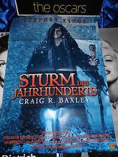 Der Sturm des Jahrhunderts -S. King -Filmposter A1 Filmplakat Poster Kinoplakat