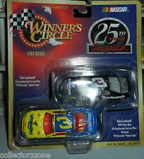 1999 WINNERS CIRCLE DALE EARNHARDT 25TH ANNIVERSARY TWIN PACK