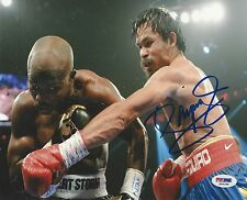 Manny Pacquiao signed 8x10 photo PSA/DNA # S99288