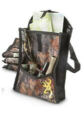 BROWNING Buckmark CAMO Camouflage 9x11 Heavy-Duty VEHICLE /Outdoor UTILITY BAG