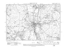 Old map of Lostwithiel 1908 - Cornwall, repro Corn-42-NE